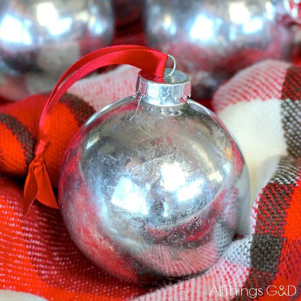 Diy Sprinkle Ornaments: Faux Mercury Glass Ornaments (DIY)