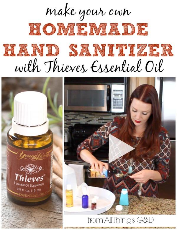Best Natural Hand Sanitizer Recipe