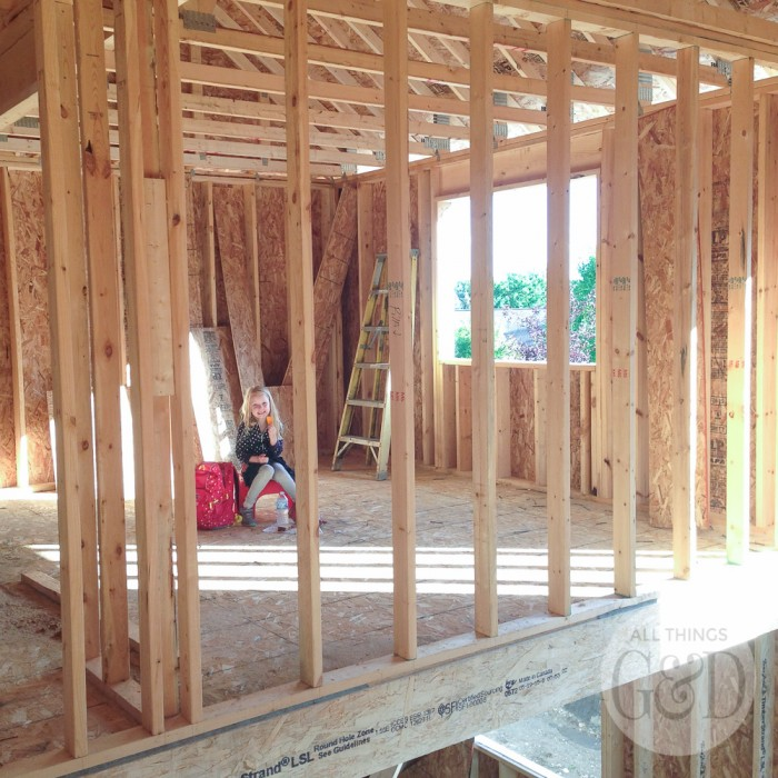 ATG&D Dream Home   Framing (Almost Done!)