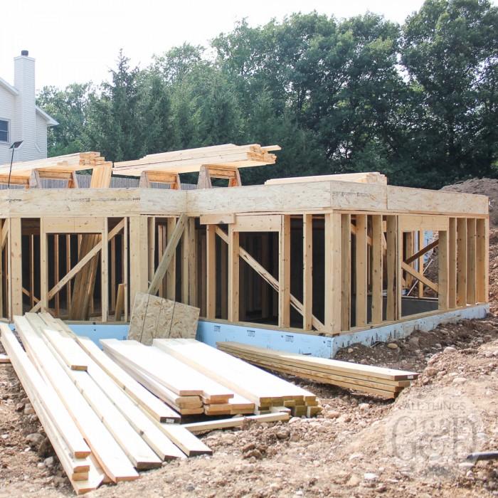 ATG&D Dream Home | Framing (Lower Level)